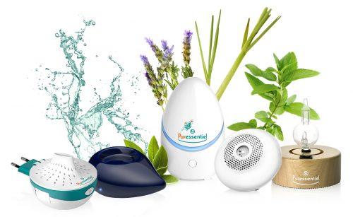 Puressentiel Difusores Con Plantas (enchufar,azul,oboid,nomade,madera)