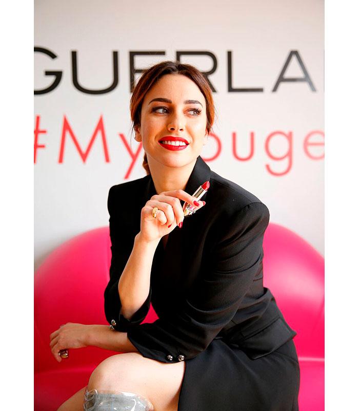 Blanca Suarez Guerlain Rouge G 3