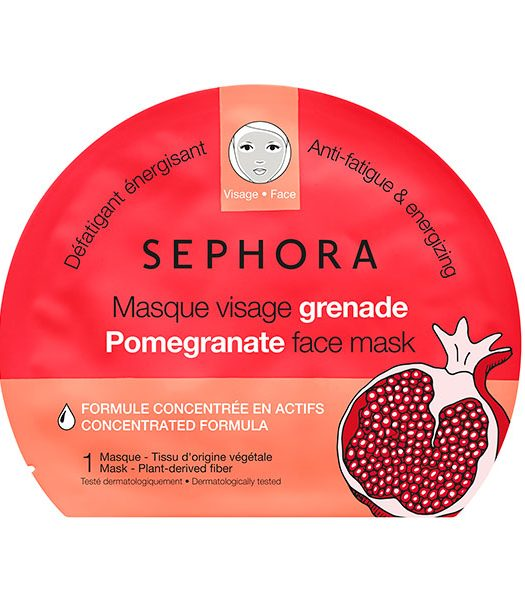 Sephora Face Mask Pomegranate