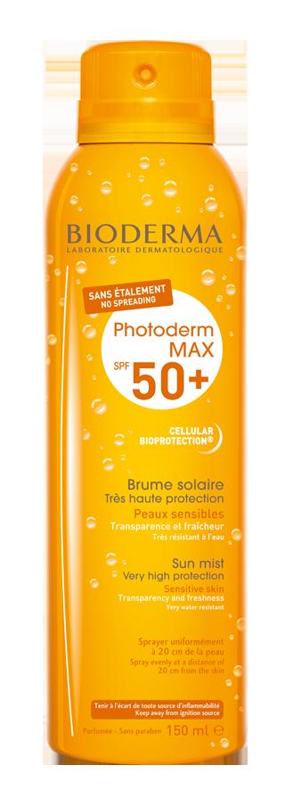 Photoderm MAX Brume. solares para prevenir el cáncer