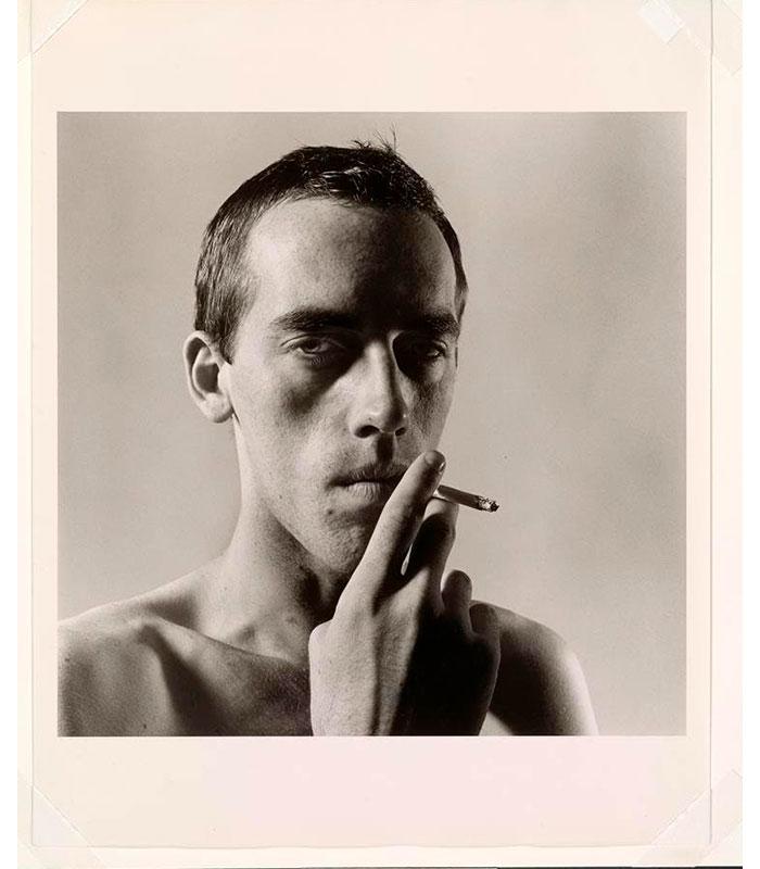 Peter Hujar David Wojnarowicz Smoking