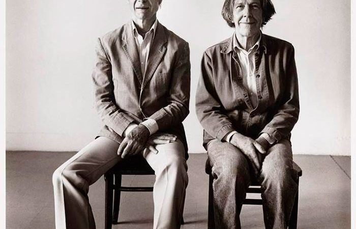 Peter Hujar Merce Cunningham John Cage Seated