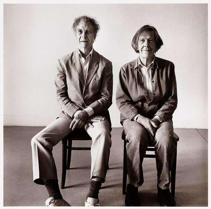 Peter Hujar Merce Cunningham John Cage Seated