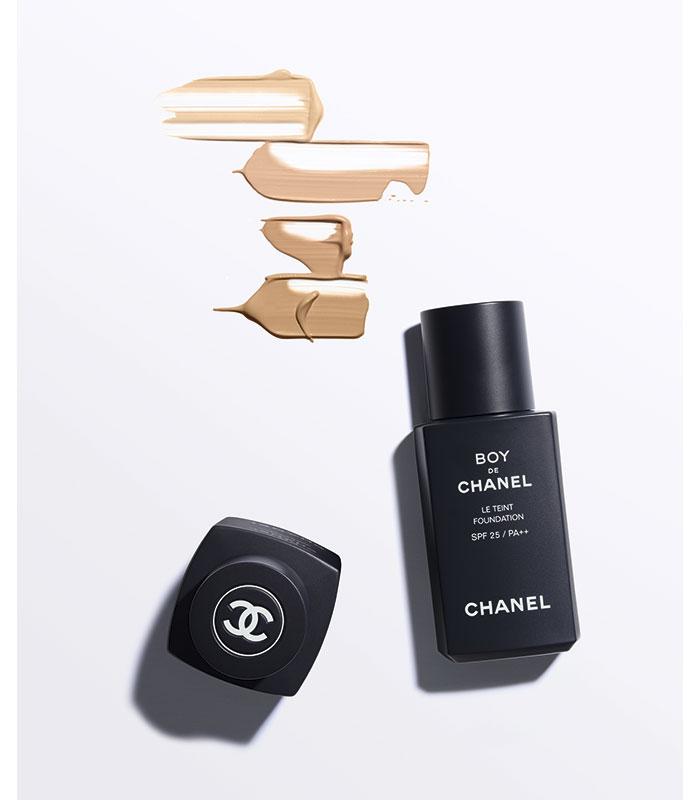 Boy Chanel Maquillaje Masculino Fondo