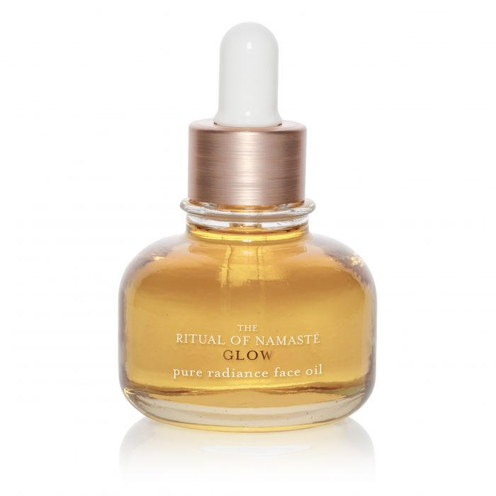 Pure Radiance Face Oil rituals
