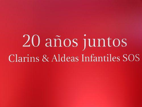 Clarins Y Aldeas Infantiles Sos 2018