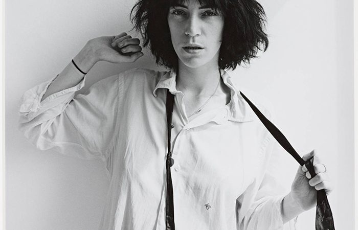 Patti Smith 1975 By Robert Mapplethorpe 1946 1989