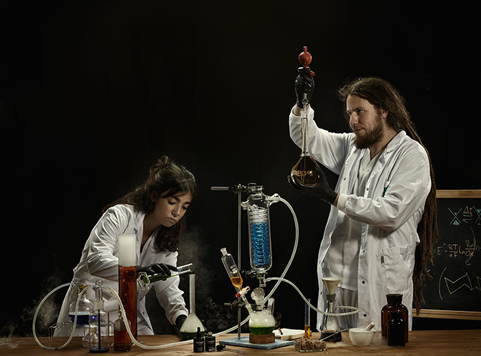 Jone Renteria (Ingeniera Biomédica Y Responsable De Procesos) Y Raúl Pérez (Director Científico CSO)