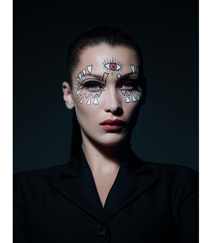 Maquillaje Halloween 2018 Bella Hadid Dior 3