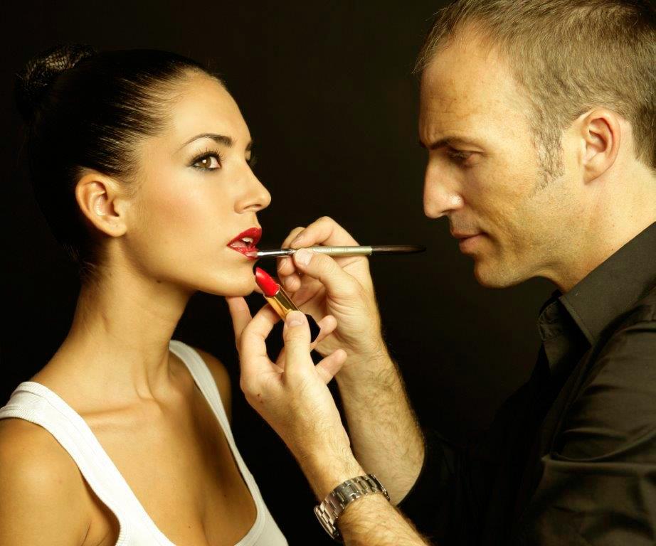 Maquillaje Lancome Labios Rojos