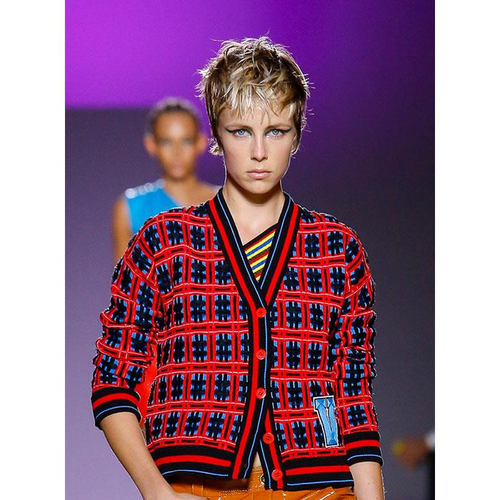 Versace Tendencias Primavera 2019 Pixie