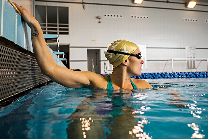 nadar deporte