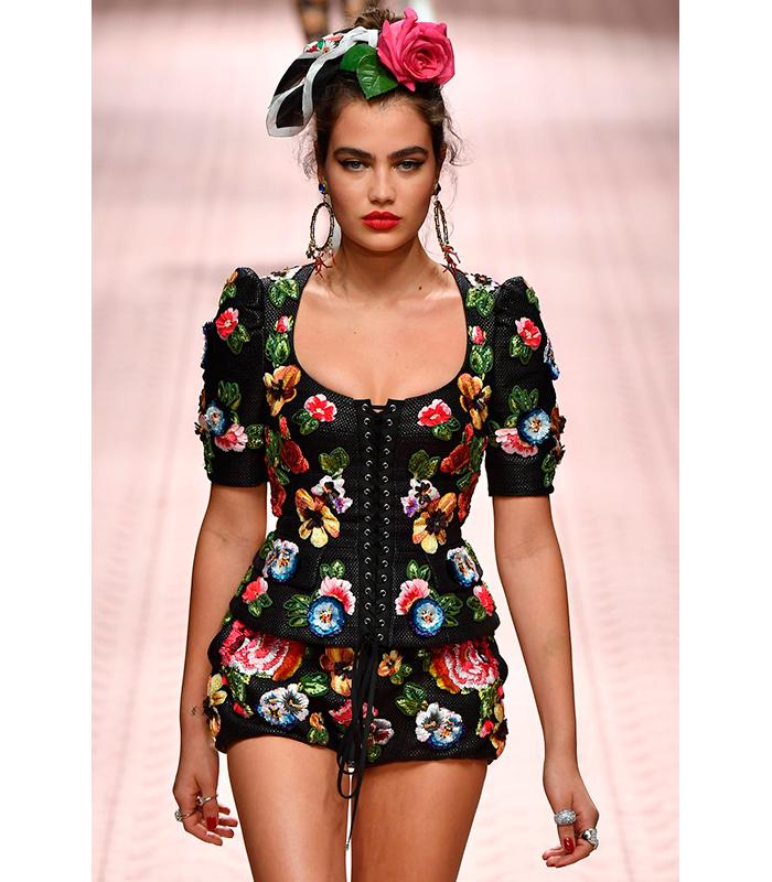Tendencias Manicura Primavera 2019 Dolce Gabbana