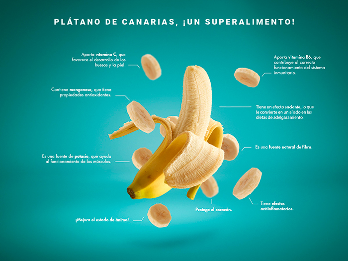 Beneficios Platano De Canarias