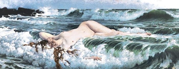 El Nacimiento De Venus (1888) De Adolf Hirémy Hirschl.