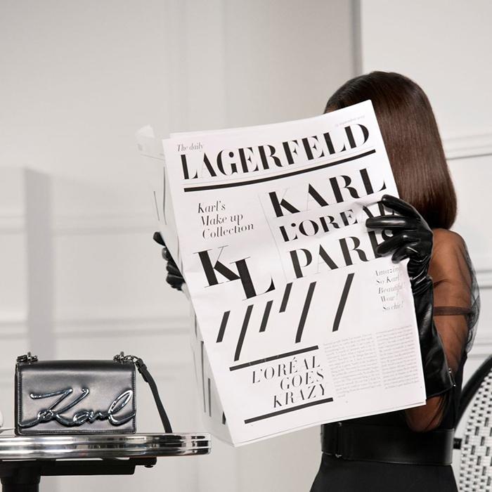 Karl Lagerfeld X Loreal Paris 2