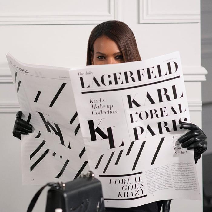 Karl Lagerfeld X Loreal Paris 3
