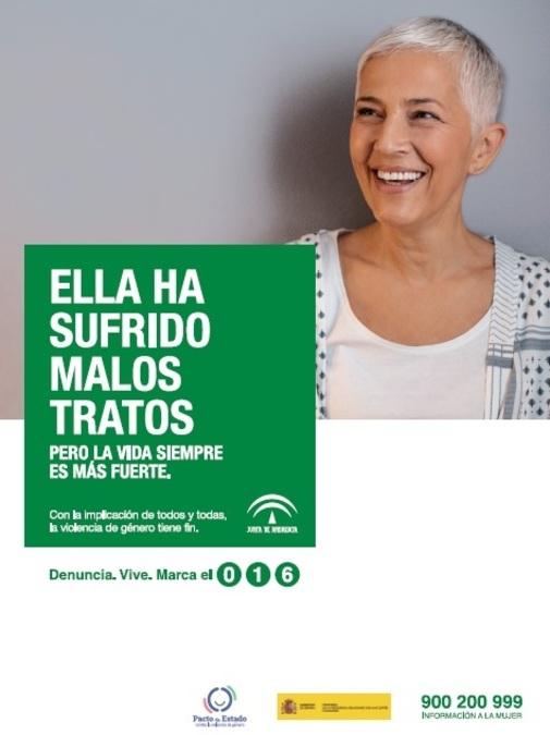 Camapaña Malos Tratos Andalucia 2019