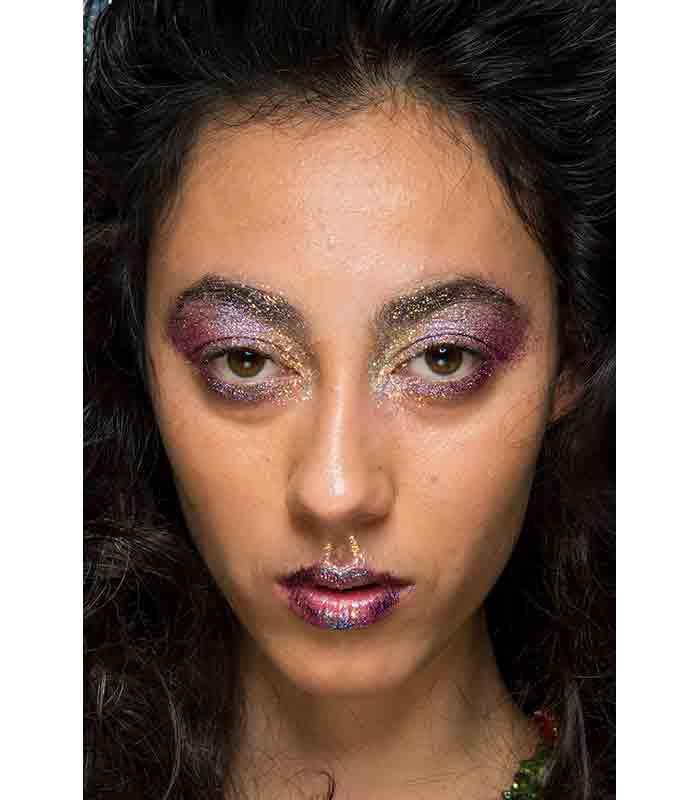 Maquillaje Otoño Invierno 2019 2020 Ashish