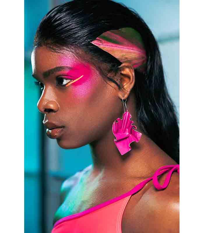 Maquillaje Otoño Invierno 2019 2020 Chromat