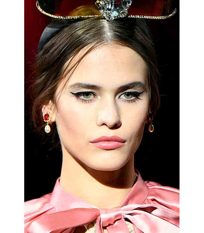 Maquillaje Otoño Invierno 2019 2020 Dolce Gabbana