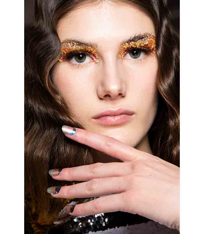 Maquillaje Otoño Invierno 2019 2020 Halpern 2q