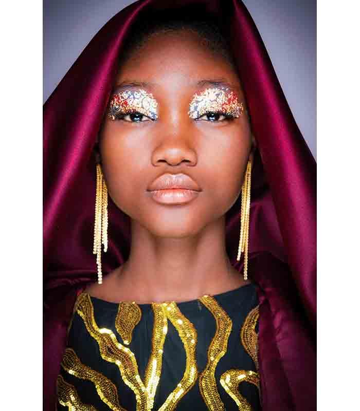Maquillaje Otoño Invierno 2019 2020 Halpern