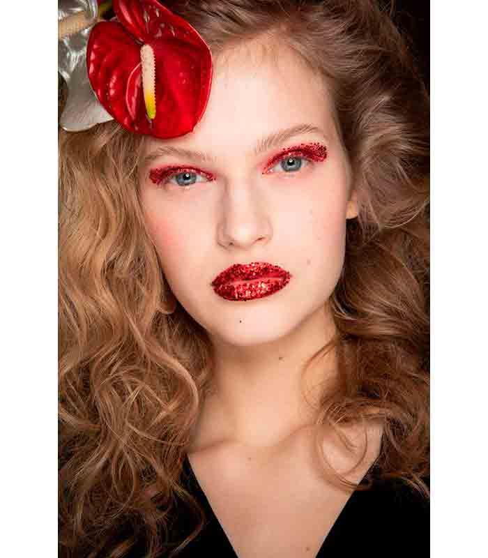Maquillaje Otoño Invierno 2019 2020 Rodarte 2