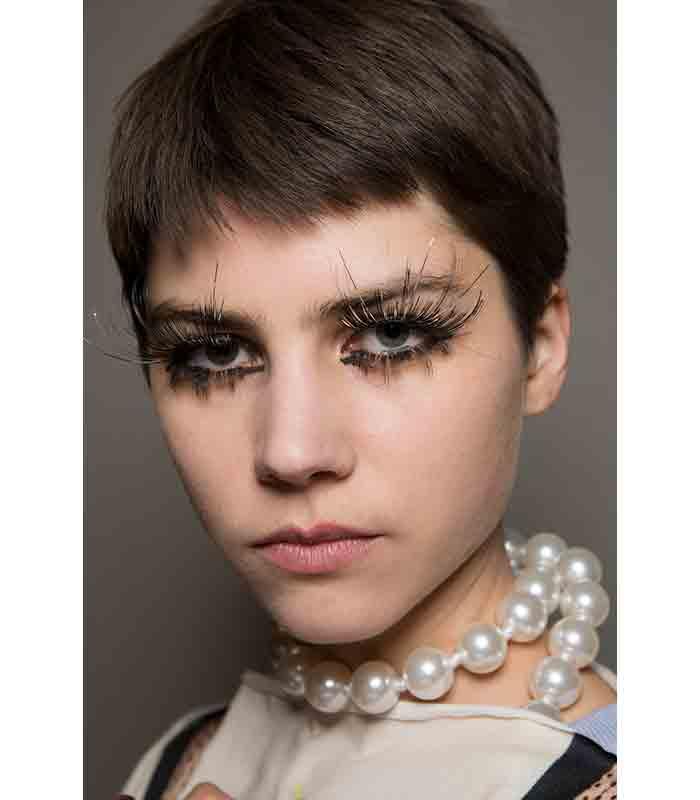 Maquillaje Otoño Invierno 2019 2020 Vivienne Westwood