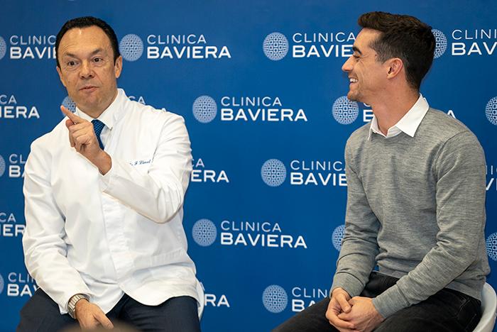 Javier Y Dr Llovet