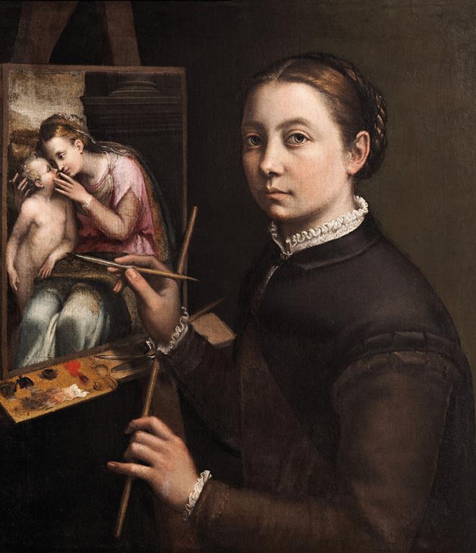 Sofonisba Anguissola Autorretrato