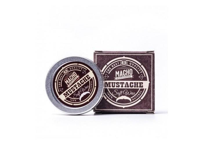 Macho Moustache Cera Suave Bigote Movember