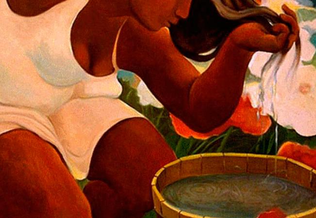 Mujer Lavar Pelo