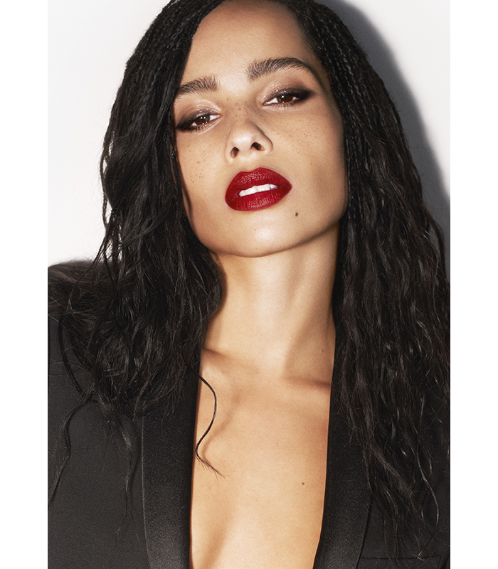 Zoe Kravitz Rouge Pur Couture Ysl Collection