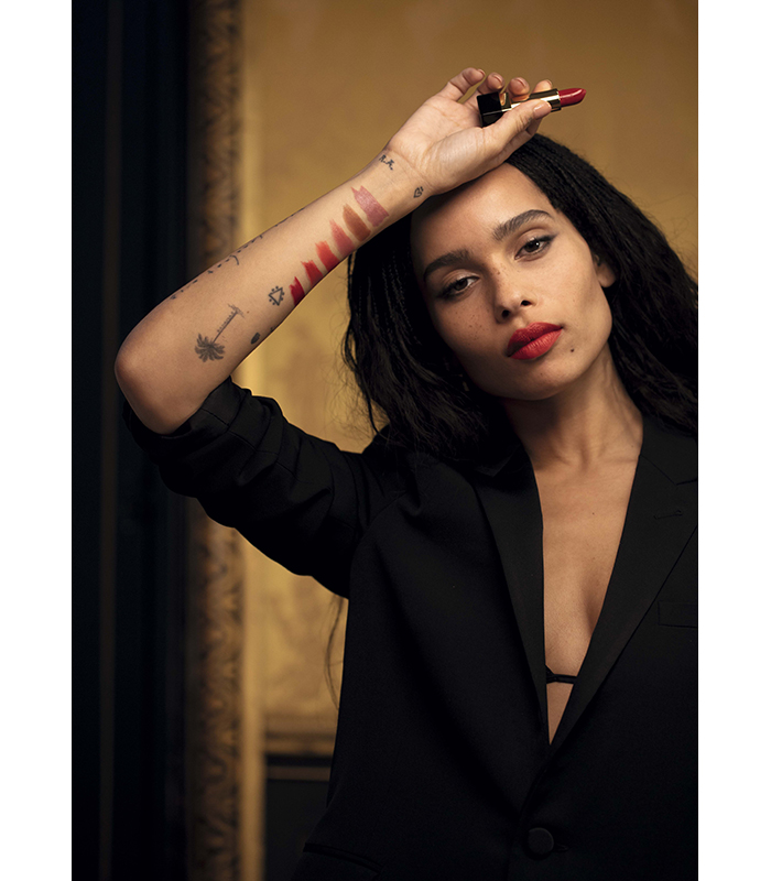 Zoe Kravitz Ysl Collection