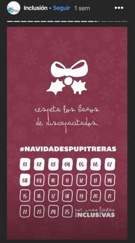 Calendario navidades inclusivas
