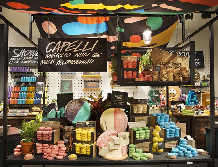 Lush Zero Waste Lush Milan Naked Shop