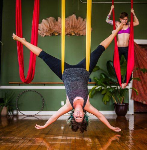 Tendencias Fitness Yoga Aéreo