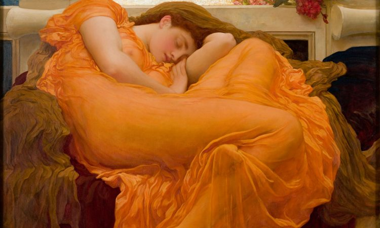 Flaming June, By Frederic Lord Leighton (1830 1896)
