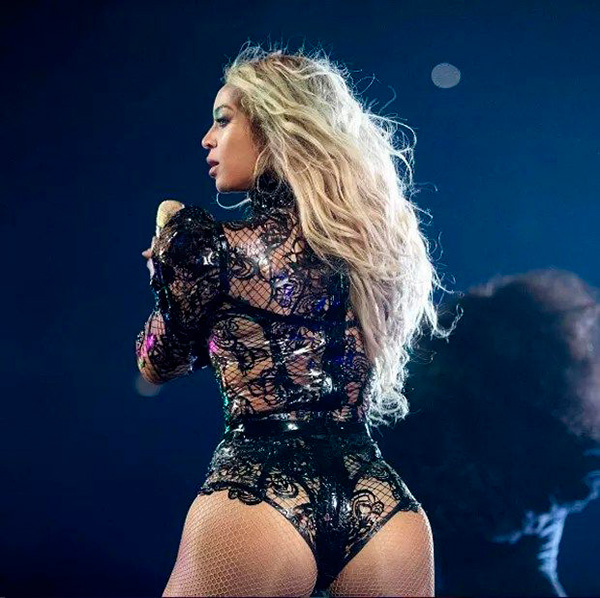Beyonce Portavoz De Mascarilla De Culo