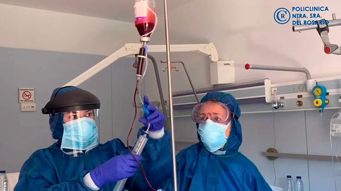 Ozonoterapia contra el coronavirus Policlínica Nuestra Señora del Rosario de Ibiza