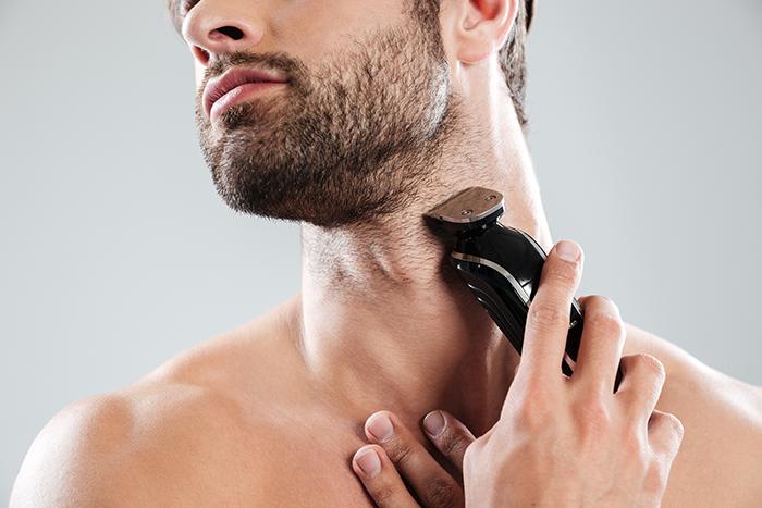 Afeitado Hombre foliculitis