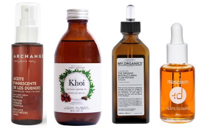 cosmética en aceite