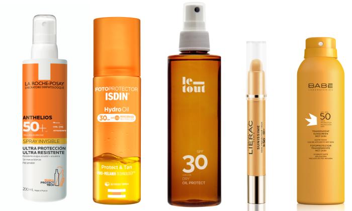 protector solar para cara y cuerpo