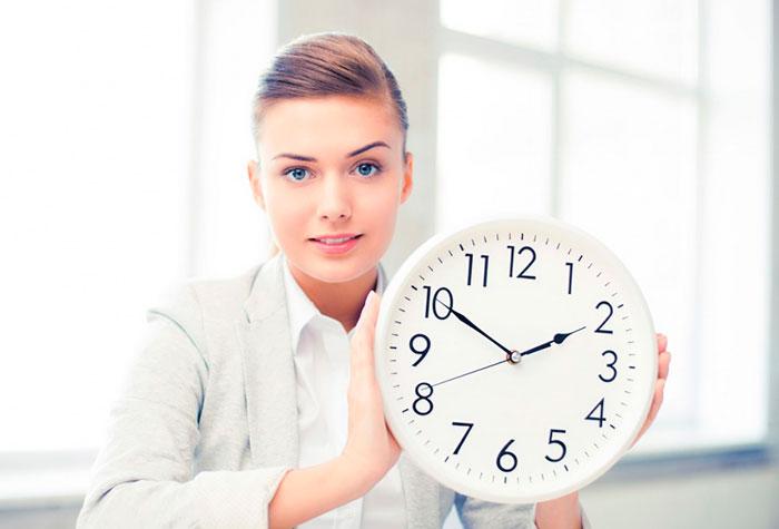 Take A Break Clock 82544942 ML 123RF