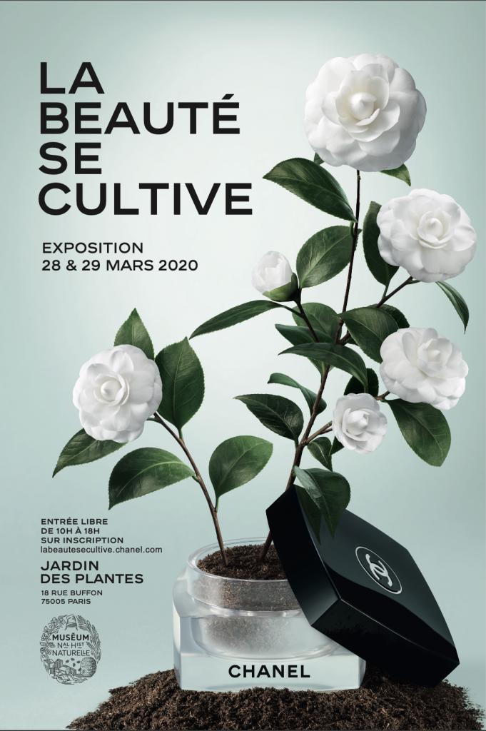 Chanel Invitacion La Beaute Se Cultive