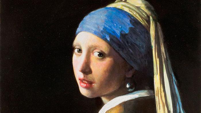 Montoya Vermeer Joven Con Perla 16x9