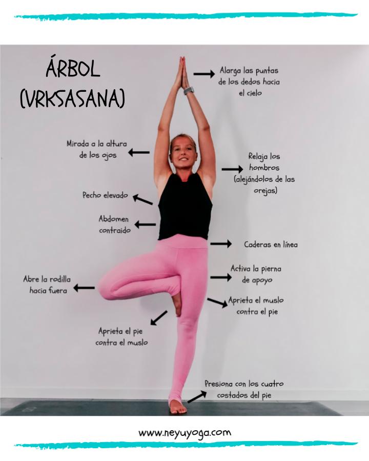 Arbol Yoga VRKSASANA