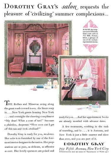 1927 Salón Dorothy Gray