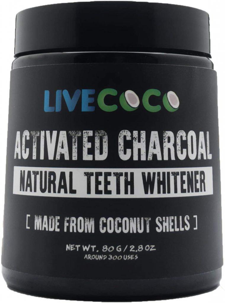 carbon activado blanqueador dientes